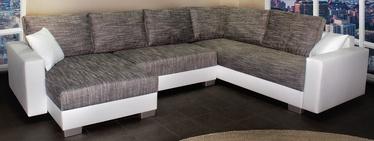 Platan Corner Sofa Gustaw 01 White/Grey