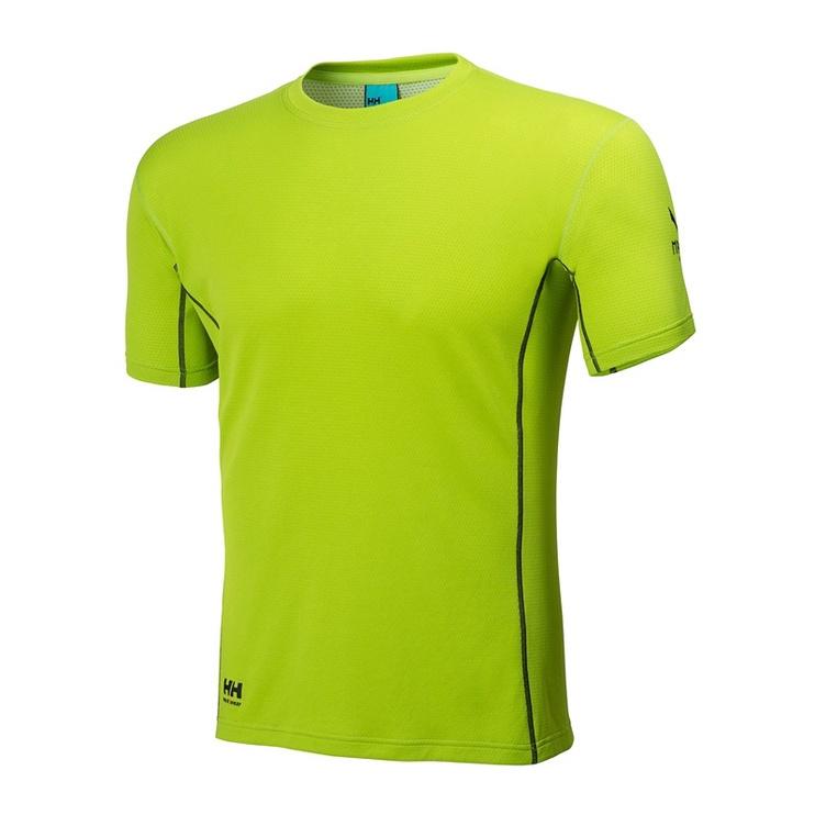 Vyriški marškinėliai Helly Hansen, žali, M dydis