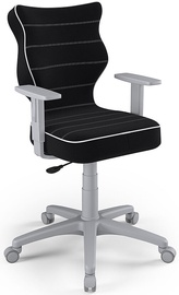 Vaikiška kėdė Entelo Duo Size 5 JS01 Grey/Black, 400x375x1000 mm