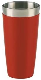 Kokteiļu šeikeris Barkonsult Boston, sarkana, 0.8 l