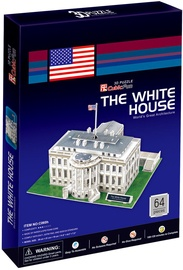 3D dėlionė Cubicfun The White House 3D, 64 dalių