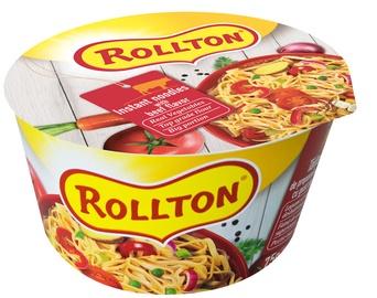 Makaronai indelyje, Rollton, jautienos skonio, 75 g.