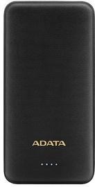 Uzlādēšanas ierīce – akumulators ADATA AT10000, 10000 mAh, melna