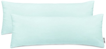 DecoKing Amber Pillowcase 40x145 Frozen Blue 2pcs