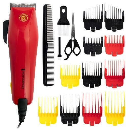 Plaukų kirpimo mašinėlė Remington Manchester United Edition ColourCut HC503