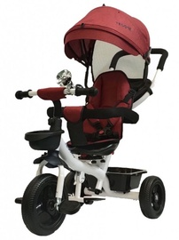 Tesoro BT-13 Baby Tricycle White Red