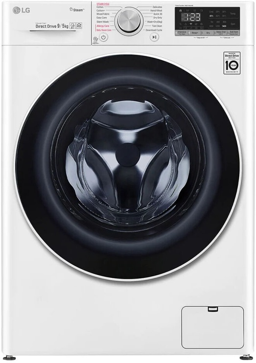 Pesumasin-kuivati LG F4DN409S0