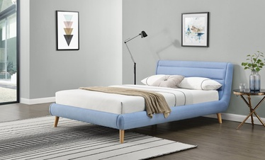 Halmar Elanda Bed 160x200cm Light Blue