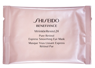 Shiseido Wrinkle Resist 24 Pure Retinol Express Smoothing Eye Mask 12pcs