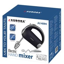 Mikser Aurora AU4094, must/roostevaba teras