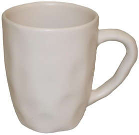 Bradley Ceramic Cup Organic 11cm White