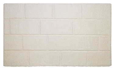 Saniplast Wall Naturale Bathroom Floor Mat 55x110cm Beige