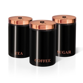 SN Storage Container 0.5l Black 3pcs