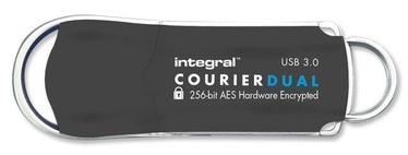 Integral 16GB Courier Dual FIPS 197 USB3.0