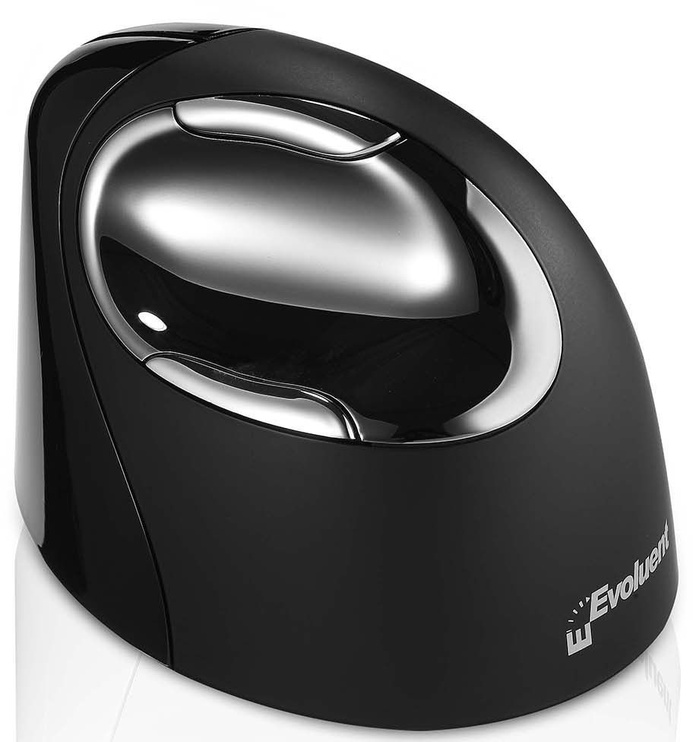 Evoluent VerticalMouse 4 Right Bluetooth Mouse for MAC Black