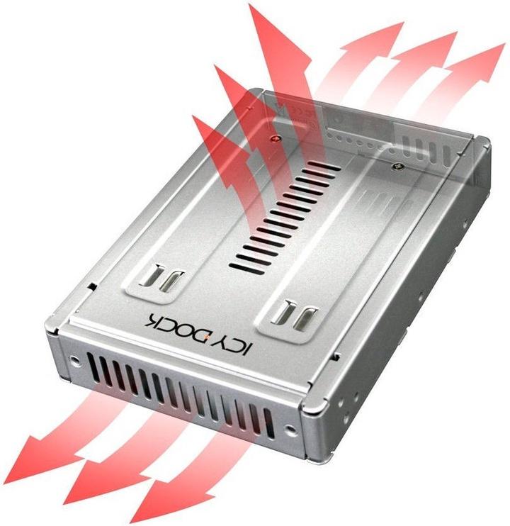 "Icy Dock EZConvert Pro MB982SP-1S 2.5"" to 3.5"" SAS / SATA"