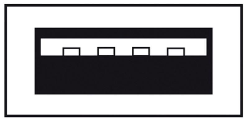 Assmann Cable USB/USB Black 3m