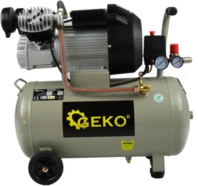 Geko G80305 Oil Compressor V-Twin 50l 8bar 410l/min