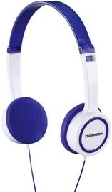 Thomson HED1105BL On-Ear Kids Headphones White/Blue