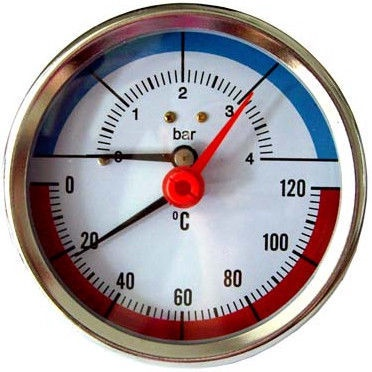 OEM MM-NX-0111 Thermomanometer Axial 4bar