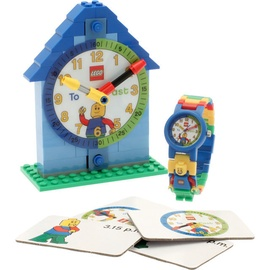 LEGO Time Teacher Minifigure Link Buildable Watch Blue
