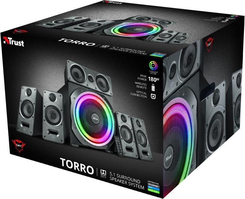 Trust GXT 698 Torro Black