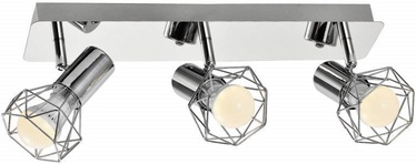 ActiveJet Blanka Ceiling Lamp Silver 3x40W E14