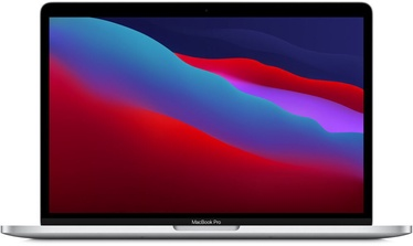 "Nešiojamas kompiuteris Apple MacBook Pro / 13.3"" Retina with Touch Bar / M1 / 8GB RAM / 256GB SSD / RUS / Silver"