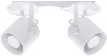 Sollux Larosa SL.0312 Ceiling Lamp 2x40W GU10 White
