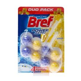 Pakabinamas tualeto muiliukas Bref Power Active, 2 x 51 g