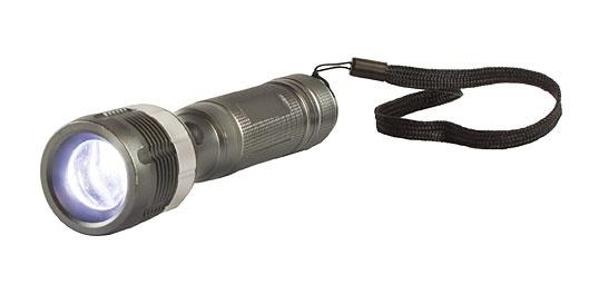 Taskulamp Arcas LED 3W zoom +3xAAA patareid