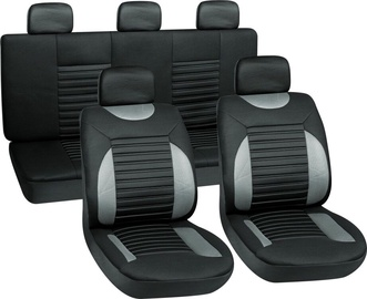 Autoserio Seat Cover Set AG-28707/4 8pcs Gray