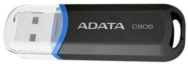 USB atmintinė ADATA C906 Black, USB 2.0, 16 GB