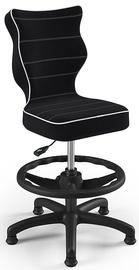 Bērnu krēsls Entelo Petit Black HC+F Size 3 JS01, melna, 300 mm x 895 mm