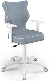 Детский стул Entelo Duo JS06, синий/белый, 375 мм x 1000 мм