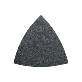 Trikampis šlifavimo lapelis Fein, P80, 80 mm, 50 vnt.