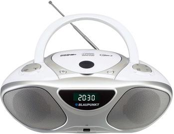 Магнитола Blaupunkt BB14 Boombox, 2 Вт, белый