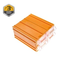 Forte Tools K-32 Toolbox 120x110x62mm Yellow