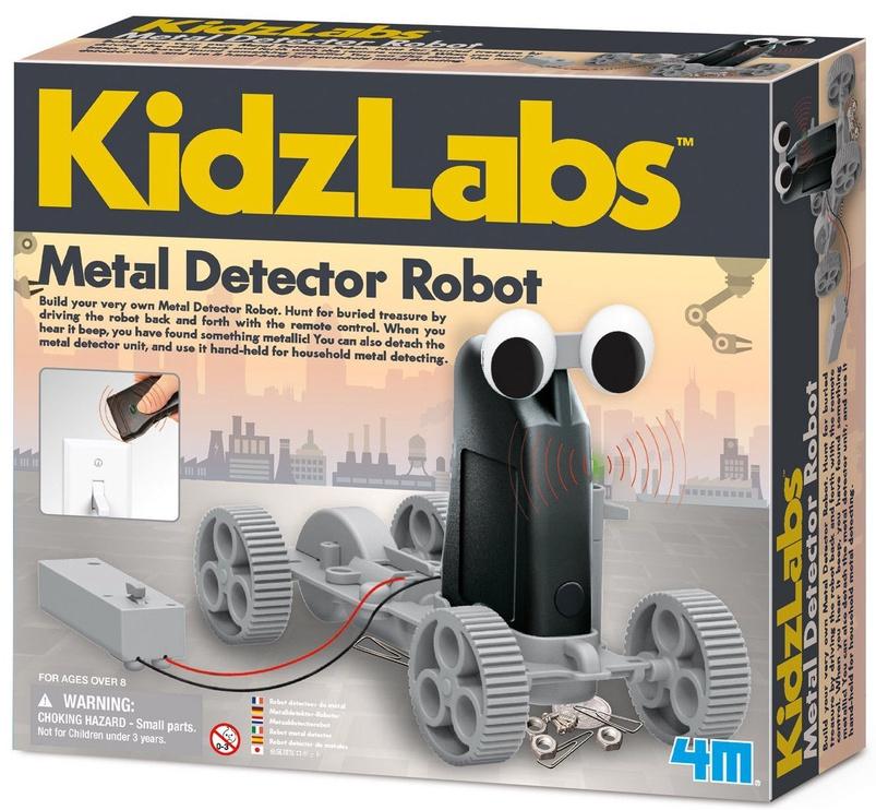 4M KidzLabs Metal Detector Robot 3297