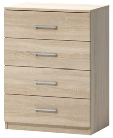 WIPMEB Tatris 01 Chest Of Drawers Sonoma Oak