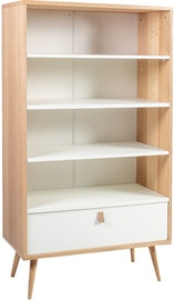Home4you Shelf Helena White/Oak 20046