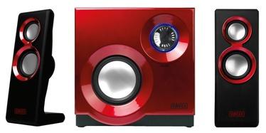 Sweex Purephonic 2.1 Speaker Set Red