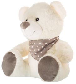 Axiom Teddy Bear Pearl Collection White 35cm
