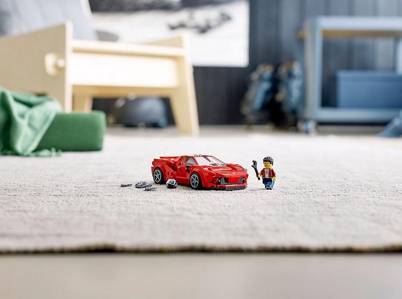 Konstruktorius LEGO®Speed Champions 76895 Ferrari F8 Tributo