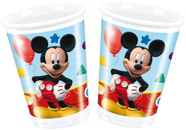 Dajar Playful Mickey Glass 200ml 8pcs