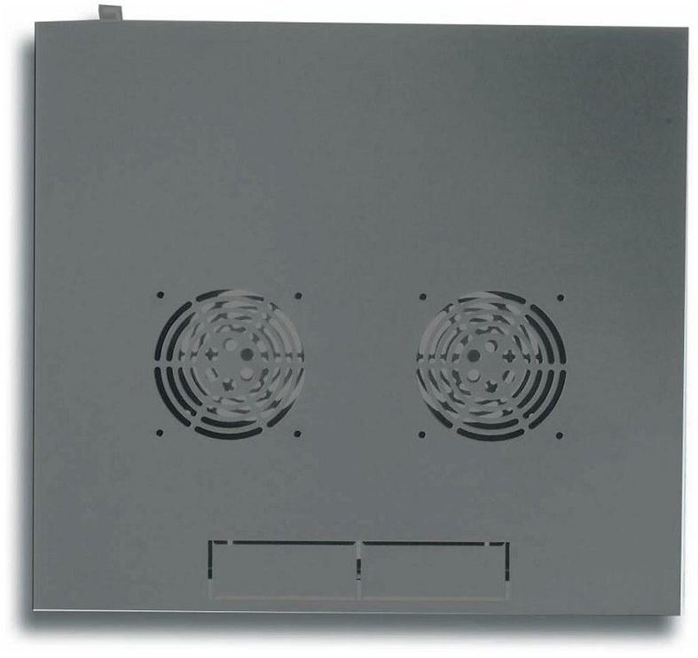 "Techly Wall Rack Cabinet 19"" 6U D450 Black Assembled"
