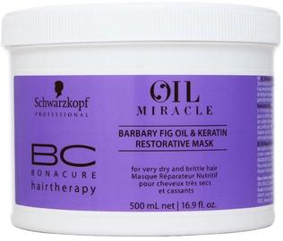 Kaukė plaukams Schwarzkopf BC Bonacure Oil Miracle Barbary Fig&Keratin Mask, 500 ml