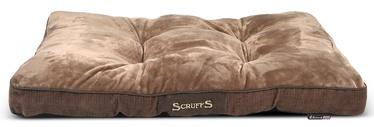 Кровать для животных Scruffs Chester Dog Mattress M, коричневый, 820x580 мм
