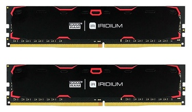 GoodRam IRIDIUM Black 8GB 2400MHz CL 15 DDR4 DIMM KIT OF 2 IR-2400D464L15S/8GDC