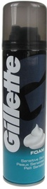 Skūšanās putas Gillette Sensitive, 300 ml
